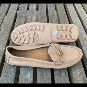 New-Coach Arlene Tan loafer-flats  shoes-Size-8